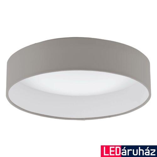 EGLO 93949 PALOMARO mennyezeti lámpa, szürke, 950 lm, 3000K melegfehér, beépített LED, 11W, IP20