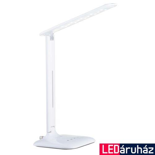 EGLO 93965 CAUPO asztali lámpa, kapcsolóval, fehér, 280 lm, 3000K-6500K szabályozható, beépített LED, 2,9W, IP20