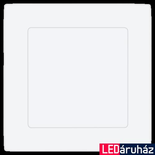 EGLO 94054 FUEVA 1 Süllyesztett 6W, LED panel, négyzet, 12x12cm, fehér keret, 4000K természetes fehér