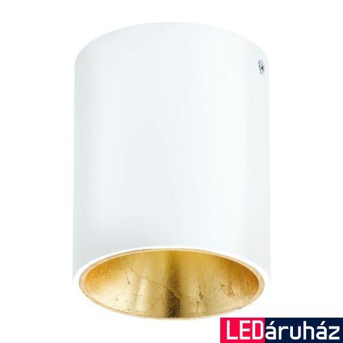 EGLO 94503 POLASSO mennyezeti lámpa, fehér, 340 lm, 3000K melegfehér, beépített LED, 1x3,3W, IP20