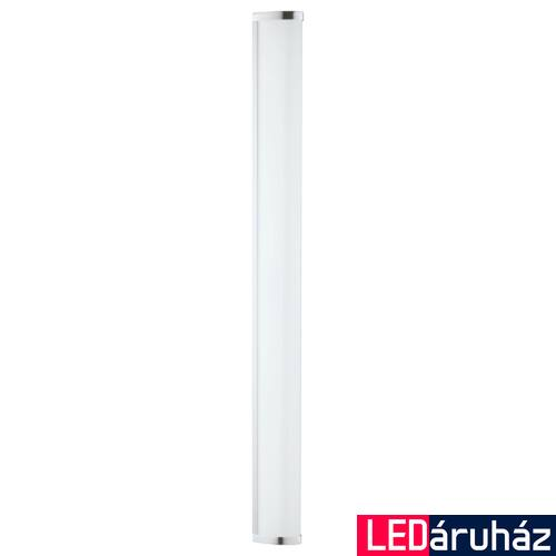 EGLO 94714 GITA 2 fürdőszobai fali/mennyezeti lámpa, króm, 2600 lm, 4000K természetes fehér, beépített LED, 24,3W, IP44