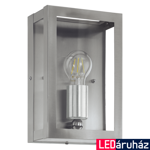 EGLO 94827 ALAMONTE kültéri fali lámpa, nemesacél + ajándék LED fényforrás