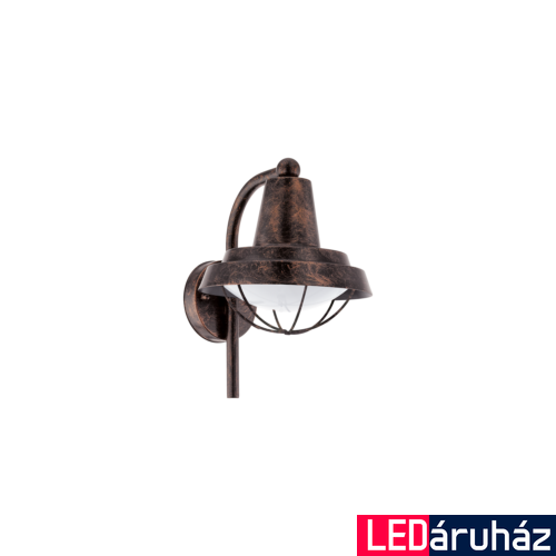 EGLO 94838 COLINDRES kültéri fali lámpa, antik-vörösréz + ajándék LED fényforrás