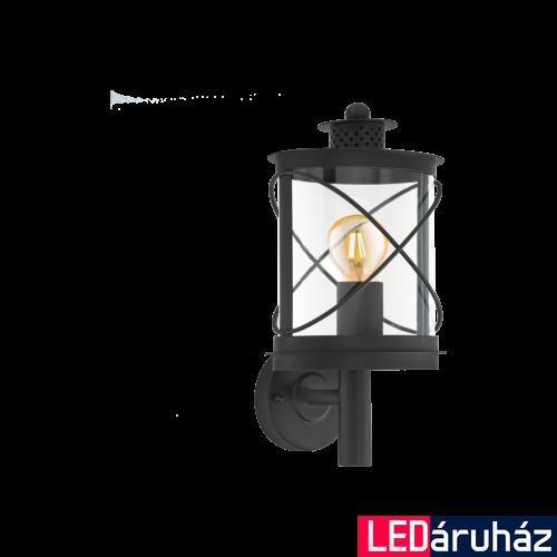 EGLO 94842 HILBURN kültéri fali lámpa, fekete + ajándék LED fényforrás