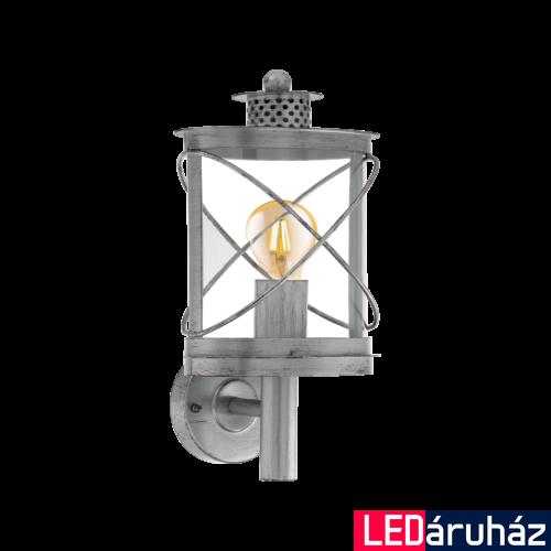 EGLO 94865 HILBURN 1 kültéri fali lámpa, antik ezüst + ajándék LED fényforrás
