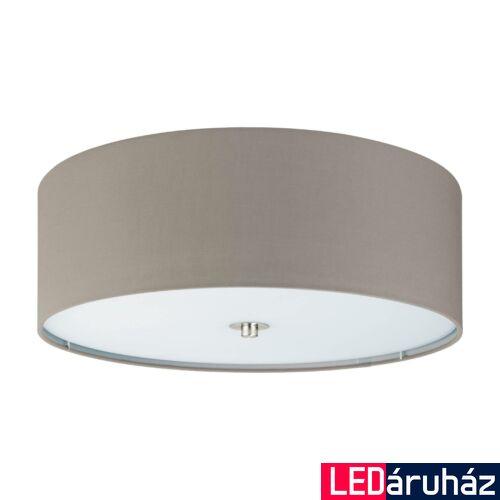 EGLO 94919 PASTERI mennyezeti lámpa, szürke, E27 foglalattal, IP20