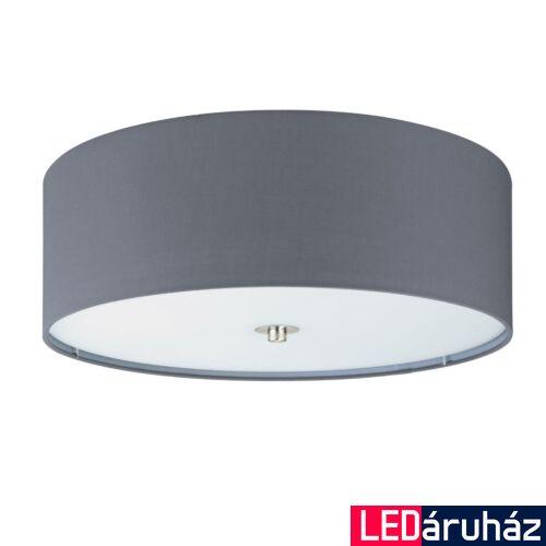 EGLO 94921 PASTERI mennyezeti lámpa, szürke, E27 foglalattal, max. 3x25W, IP20