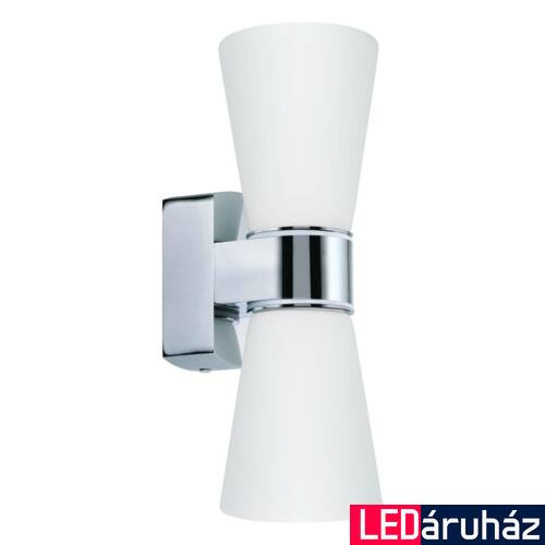 EGLO 94989 CAILIN fürdőszobai fali lámpa, króm, G9 foglalattal, max. 2x3W, IP44