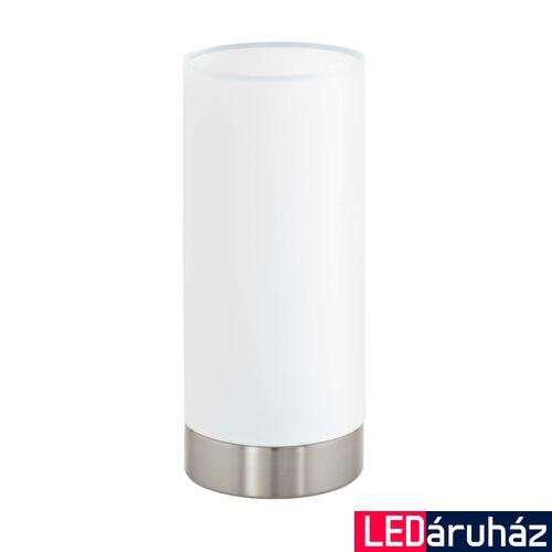 EGLO 95118 PASTERI asztali lámpa, kapcsolóval, fehér, E27 foglalattal, IP20 + ajándék LED fényforrás