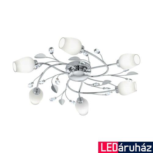 EGLO 95162 PITALE mennyezeti lámpa, fehér, G9 foglalattal, max. 6x3W, IP20