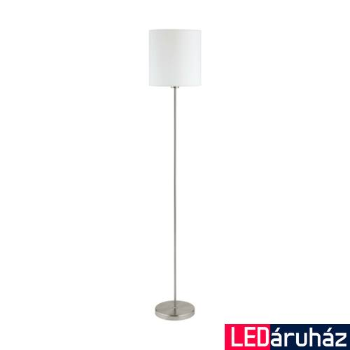 EGLO 95164 PASTERI állólámpa, kapcsolóval, fehér, E27 foglalattal, IP20 + ajándék LED fényforrás