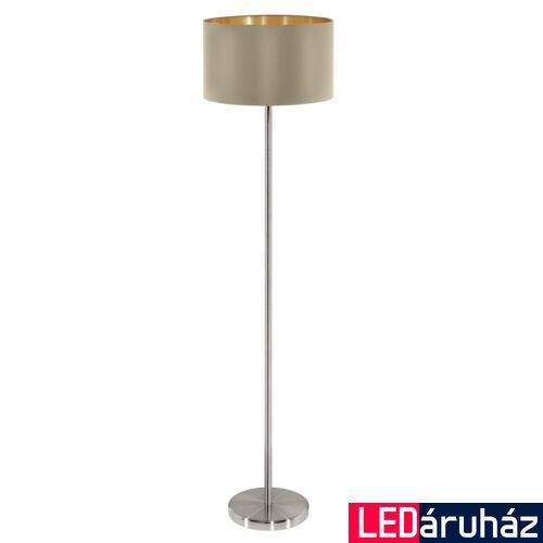 EGLO 95171 MASERLO állólámpa, kapcsolóval, szürke, E27 foglalattal, IP20 + ajándék LED fényforrás