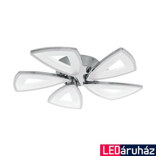 EGLO 95221 AMONDE mennyezeti lámpa, króm, 5X6W, 3650 lm, 3000K melegfehér, beépített LED, IP20