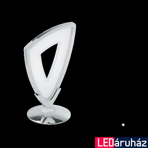 EGLO 95223 AMONDE Design LED asztali lámpa, 26,5cm, króm/fehér, 6W, 3000K melegfehér, 730lm