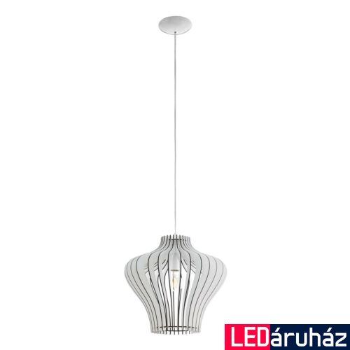 EGLO 95253 COSSANO 2 1 ágú függeszték, fehér, E27 foglalattal, IP20 + ajándék LED fényforrás