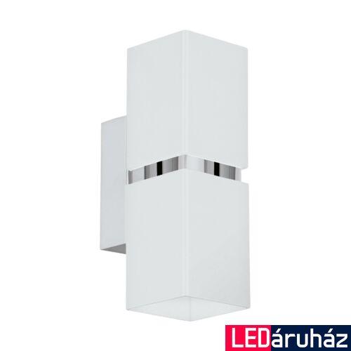 EGLO 95377 PASSA fali lámpa, króm, GU10 foglalattal, max. 2x3W, IP20