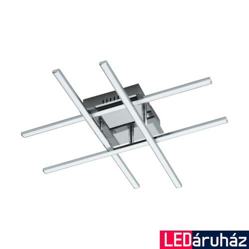 EGLO 95568 LASANA 1 fali/mennyezeti lámpa, króm, 24W, 2520 lm, 3000K melegfehér, beépített LED, IP20
