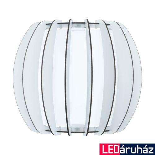 EGLO 95609 STELLATO 2 fali lámpa, fehér, E27 foglalattal, IP20