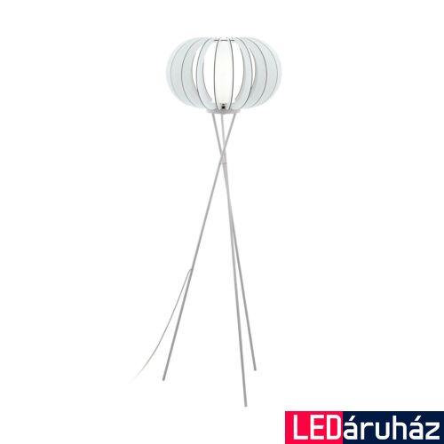 EGLO 95612 STELLATO 2 Fa állólámpa, 50cm, fehér, E27 foglalattal + ajándék LED fényforrás