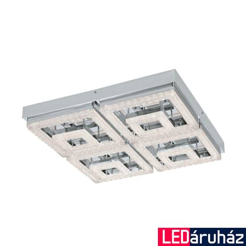 EGLO 95661 FRADELO mennyezeti lámpa, króm, 5000 lm, 3000K melegfehér, beépített LED, 48W, IP20