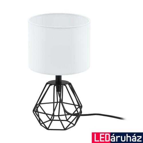 EGLO 95789 CARLTON 2 asztali lámpa, kapcsolóval, fehér, E14 foglalattal, max. 1x60W, IP20