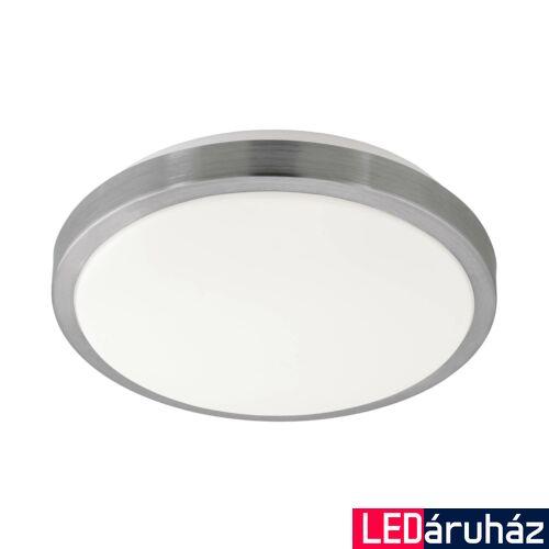 EGLO 96033 COMPETA 1 fali/mennyezeti lámpa, nikkel, 23W, 2500 lm, 3000K melegfehér, beépített LED, IP20