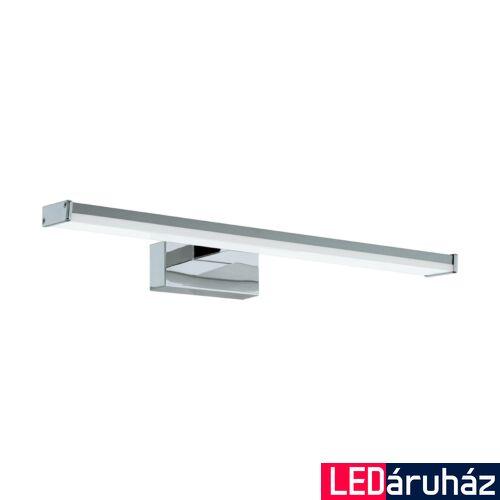 EGLO 96064 PANDELLA 1 fürdőszobai tükörmegvilágító, króm, 7,4W, 900 lm, 4000K természetes fehér, beépített LED, IP44