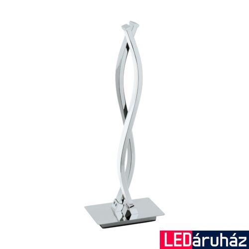 EGLO 96105 LASANA 2 asztali lámpa, kapcsolóval, króm, 1000 lm, 3000K melegfehér, beépített LED, 2x5W, IP20