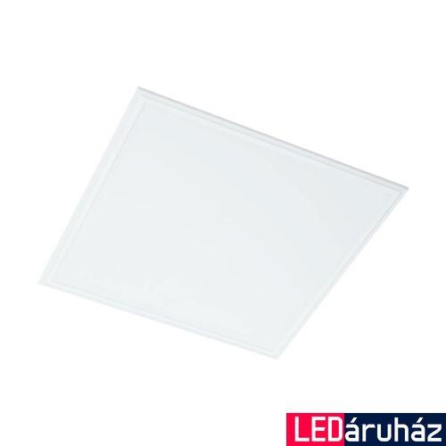 EGLO 96153 SALOBRENA 1 álmennyezeti LED panel, fehér, szögletes, 4300 lm, 4000K természetes fehér, beépített LED, 40W, IP20, 595x595 mm