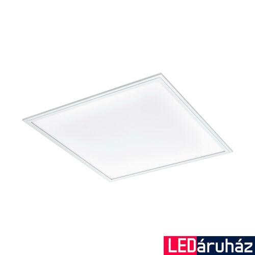 EGLO 96154 SALOBRENA 1 álmennyezeti LED panel, fehér, szögletes, 4100 lm, 4000K természetes fehér, beépített LED, 40W, IP20, 620x620 mm