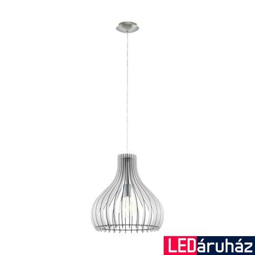 EGLO 96257 TINDORI 1 ágú függeszték, fehér, E27 foglalattal, IP20 + ajándék LED fényforrás