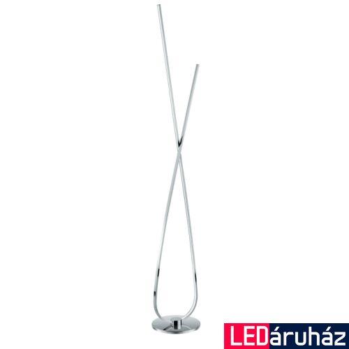 EGLO 96314 SELVINA állólámpa, kapcsolóval, króm, 1X28W, 2700 lm, 3000K melegfehér, beépített LED, IP20