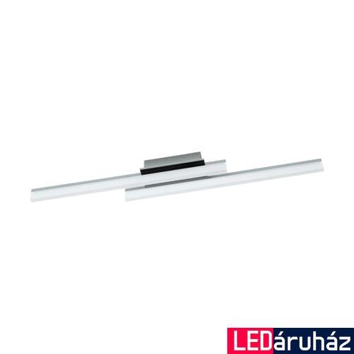 EGLO 96409 LAPELA fali/mennyezeti lámpa, króm, 2600 lm, 3000K melegfehér, beépített LED, 2x10W, IP20