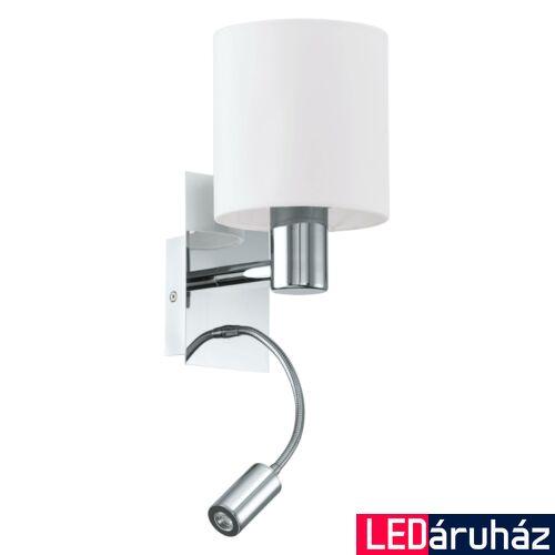 EGLO 96476 HALVA fali lámpa, bézs, -;380 lm, 3000K melegfehér, E27+LED foglalattal, IP20