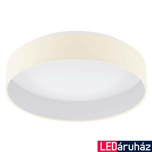 EGLO 96537 PALOMARO 1 mennyezeti lámpa, krémszín, 18W, 2000 lm, 3000K melegfehér, beépített LED, IP20