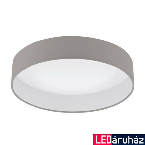 EGLO 96539 PALOMARO 1 mennyezeti lámpa, szürke, 18W, 2000 lm, 3000K melegfehér, beépített LED, IP20
