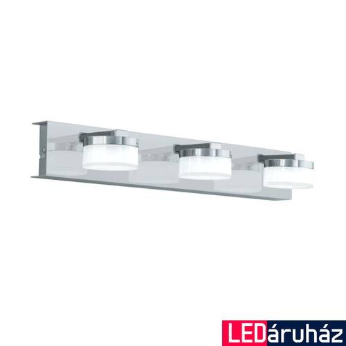 EGLO 96543 ROMENDO 1 fürdőszobai fali lámpa, króm, 3X7,2W, 1710 lm, 3000K melegfehér, beépített LED, IP44