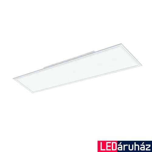 EGLO 96664 SALOBRENA-C Connect smart álmennyezeti LED panel, RGBW, távirányítóval, 120x30cm, 34W, 4300lm