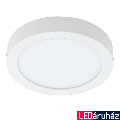 EGLO 96669 FUEVA-C LED panel, fehér, 15,6W, 2000 lm, 2700K-6500K szabályozható, fényerő szabályozható, beépített LED, IP20, 225mm átmérő