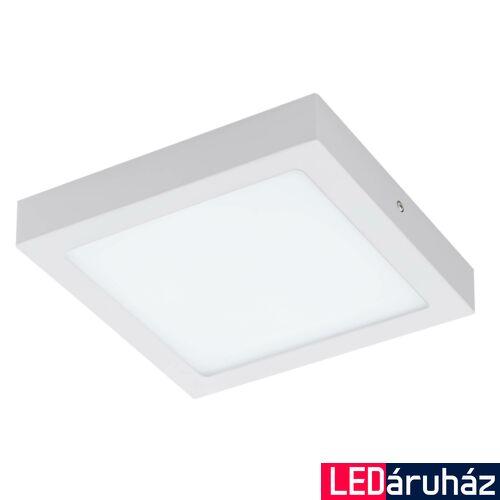 EGLO 96672 FUEVA-C LED panel, fehér, 15,6W, 2000 lm, 2700K-6500K szabályozható, fényerő szabályozható, beépített LED, IP20, 225x225 mm