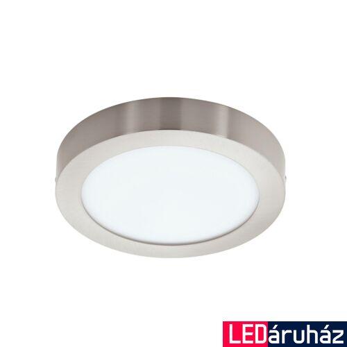EGLO 96678 FUEVA-C LED panel, nikkel, 21W, 2700 lm, 2700K-6500K szabályozható, fényerő szabályozható, beépített LED, IP20, 300mm átmérő