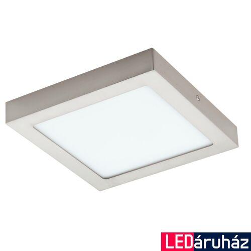 EGLO 96679 FUEVA-C LED panel, nikkel, 15,6W, 2000 lm, 2700K-6500K szabályozható, fényerő szabályozható, beépített LED, IP20, 225x225 mm