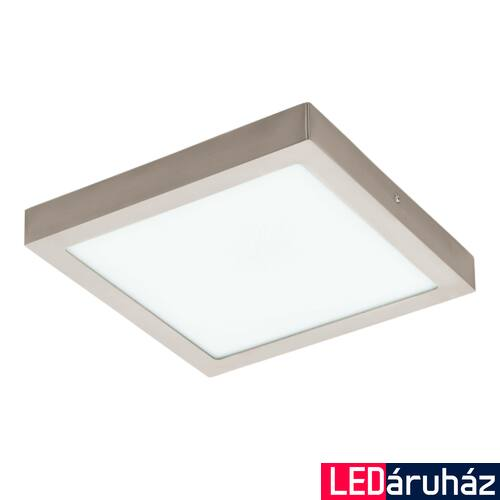 EGLO 96681 FUEVA-C LED panel, nikkel, 21W, 2700 lm, 2700K-6500K szabályozható, fényerő szabályozható, beépített LED, IP20 + ajándék LED reflektor