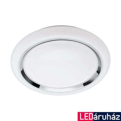 EGLO 96686 CAPASSO-C fali/mennyezeti lámpa, fehér, 17W, 2100 lm, 2700K-6500K szabályozható, fényerő szabályozható, beépített LED, IP20