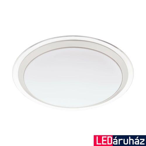 EGLO 96818 COMPETA-C fali/mennyezeti lámpa, fehér, 17W, 2100 lm, 2700K-6500K szabályozható, fényerő szabályozható, beépített LED, IP20