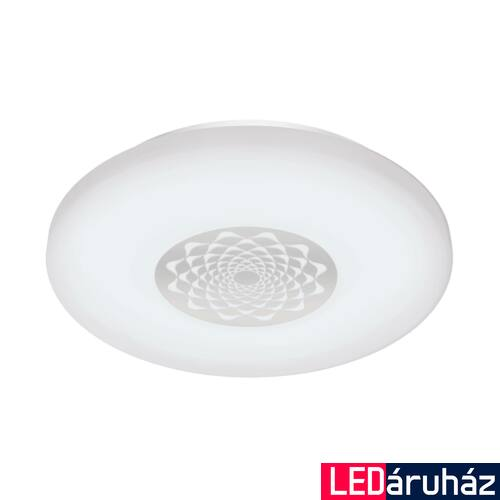 EGLO 96821 CAPASSO-C fali/mennyezeti lámpa, fehér, 17W, 2100 lm, 2700K-6500K szabályozható, fényerő szabályozható, beépített LED, IP20 + ajándék LED reflektor