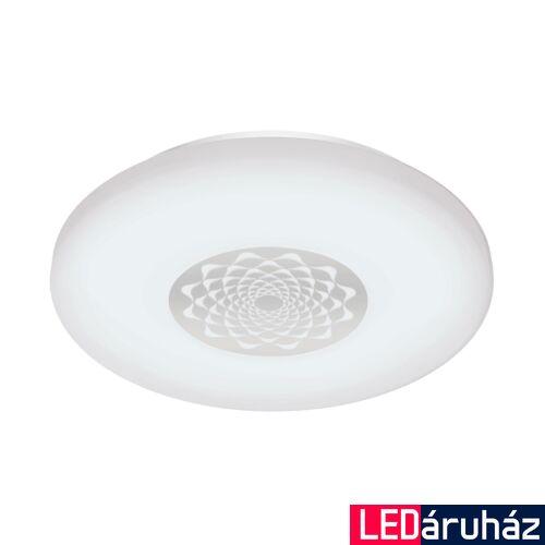 EGLO 96821 CAPASSO-C fali/mennyezeti lámpa, fehér, 17W, 2100 lm, 2700K-6500K szabályozható, fényerő szabályozható, beépített LED, IP20