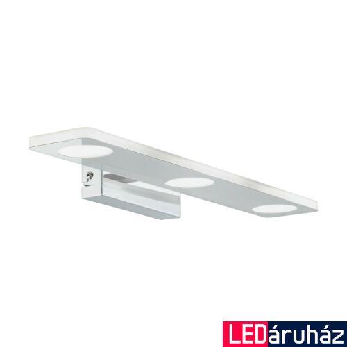EGLO 96937 CABUS fürdőszobai fali lámpa, króm, 1260 lm, 3000K melegfehér, beépített LED, 3x4,5W, IP44