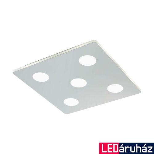 EGLO 96939 CABUS fürdőszobai mennyezeti lámpa, króm, 2100 lm, 3000K melegfehér, beépített LED, 5x4,5W, IP44