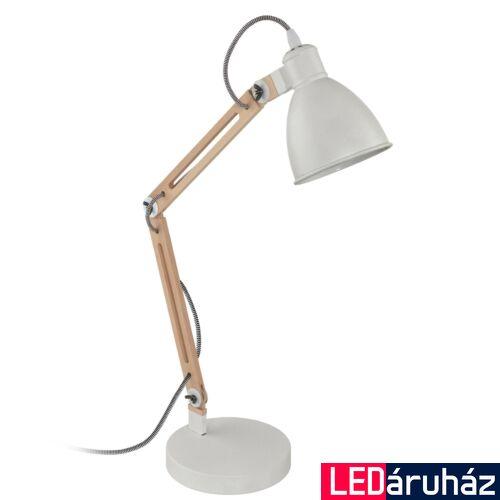 EGLO 96957 TORONA 1 asztali lámpa, kapcsolóval, fa, E14 foglalattal, max. 1x28W, IP20